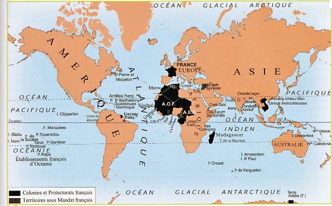 colonies francaises
